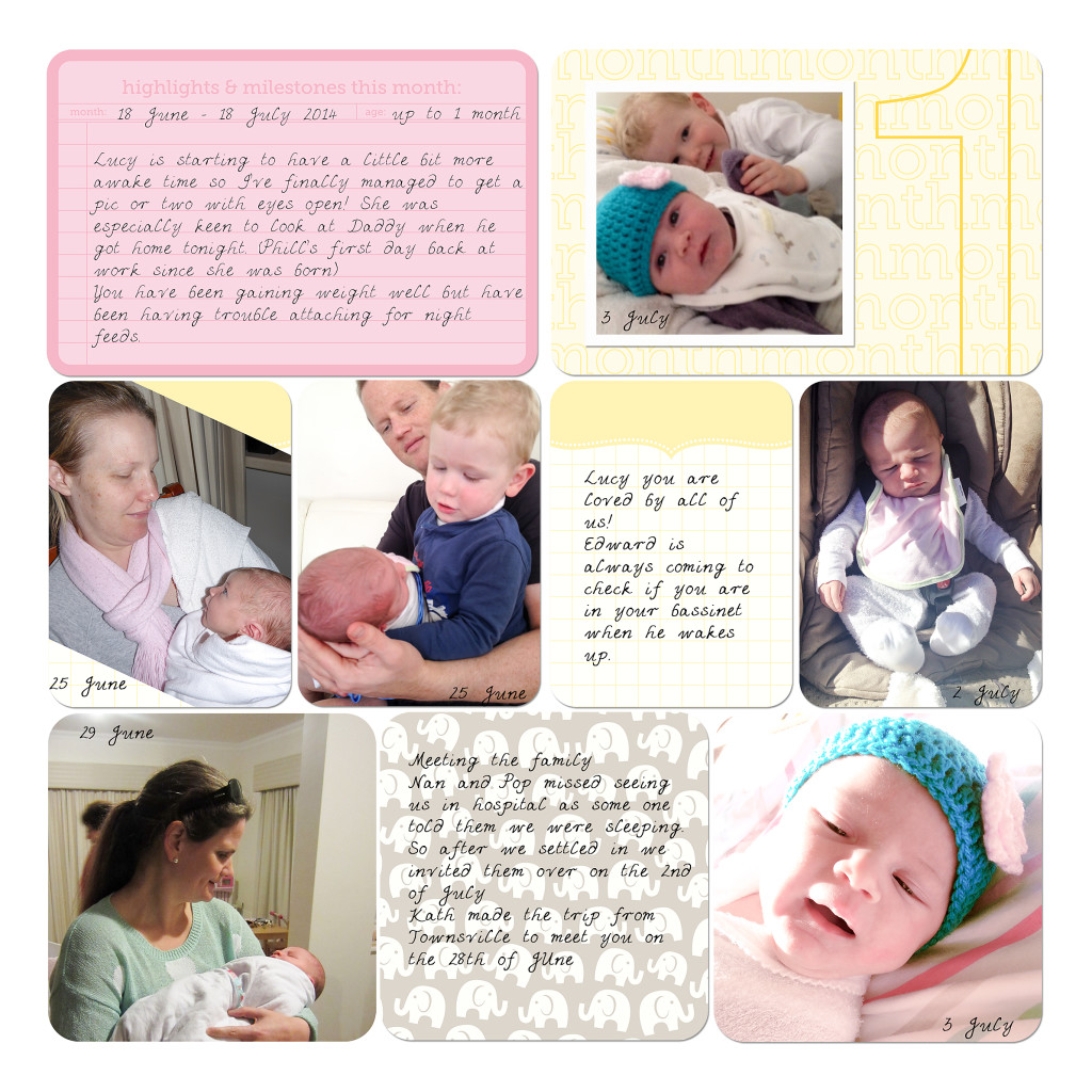 inside my album lucy s first year album