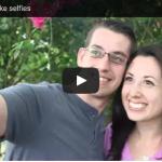 When couples take selfies