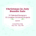 Christmas in July Flash Sale & A Winner
