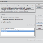 How to Delete a Catalog in Photoshop Elements