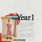 Inside my Album: Homeschool Year 1