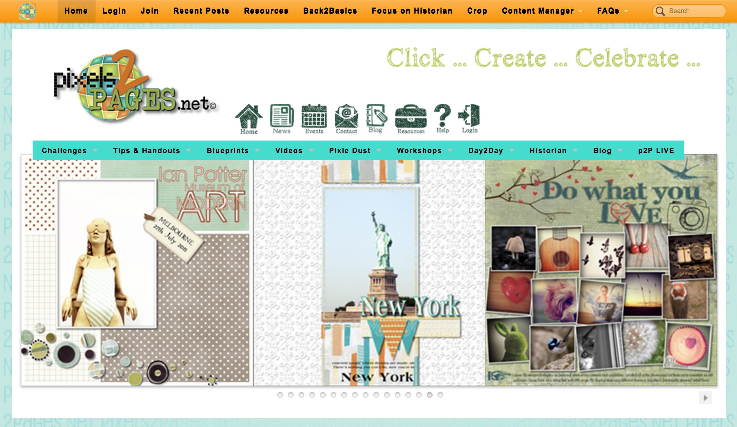 Pixels2pages website digital scrapbooking hq pixels2pages website malvernweather Images