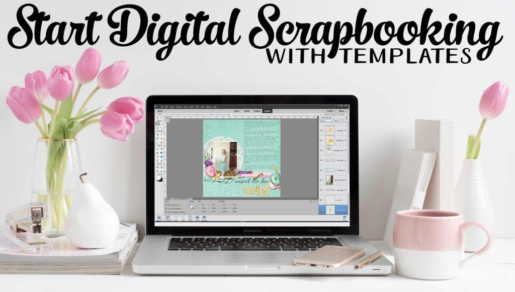 Start Digital Scrapbooking with Templates - Digital Scrapbooking HQ