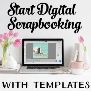 Digital Scrapbook with Templates (PSE14)