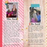 Inside my Album: He Said, She Said