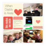 Inside my Album: When Daddy is Away