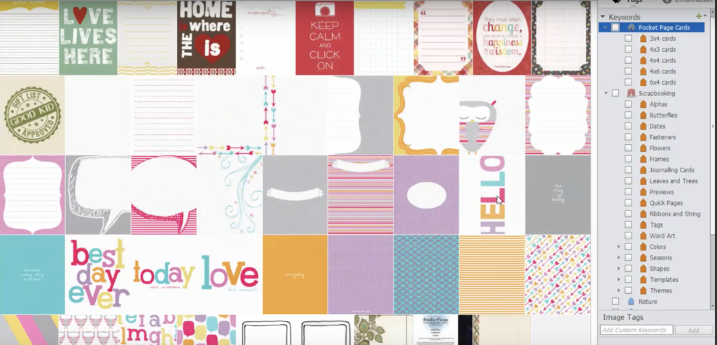 Find Your Project Life And Pocket Scrapbooking Style Cards Digital