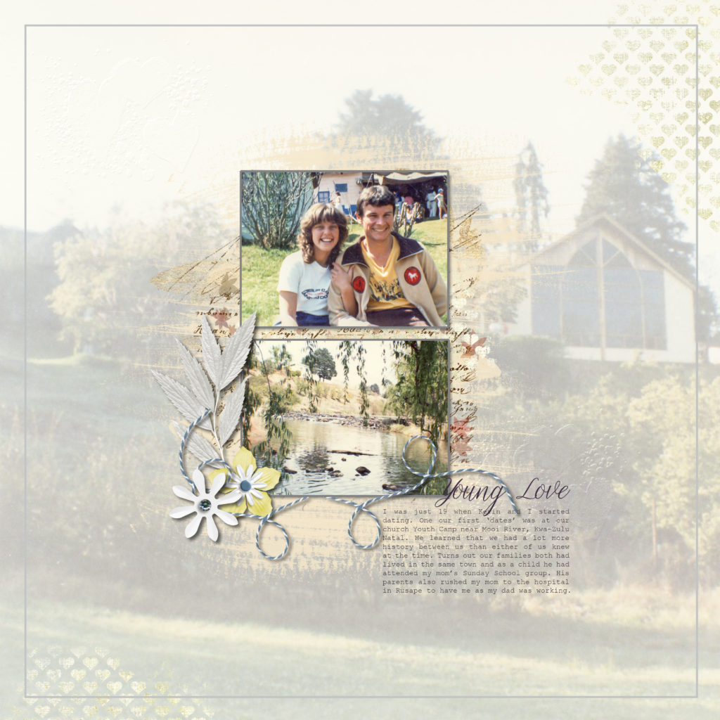 Every day members of the Digital Scrapbooking HQ community are scrapbooking and I wanted to share some of my favourite projects with you. Today I've invited Maggie Adair to share what she's creating - please give Maggie a warm welcome! I hope her pages inspire you too.
