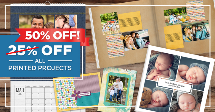 Did you say 50% OFF PRINTS?! That's right! It's our FOREVER's BIGGEST PRINT SALE EVER! Through March 11, you'll SAVE 50% on ABSOLUTELY EVERYTHING in the Print Shop! 🎉